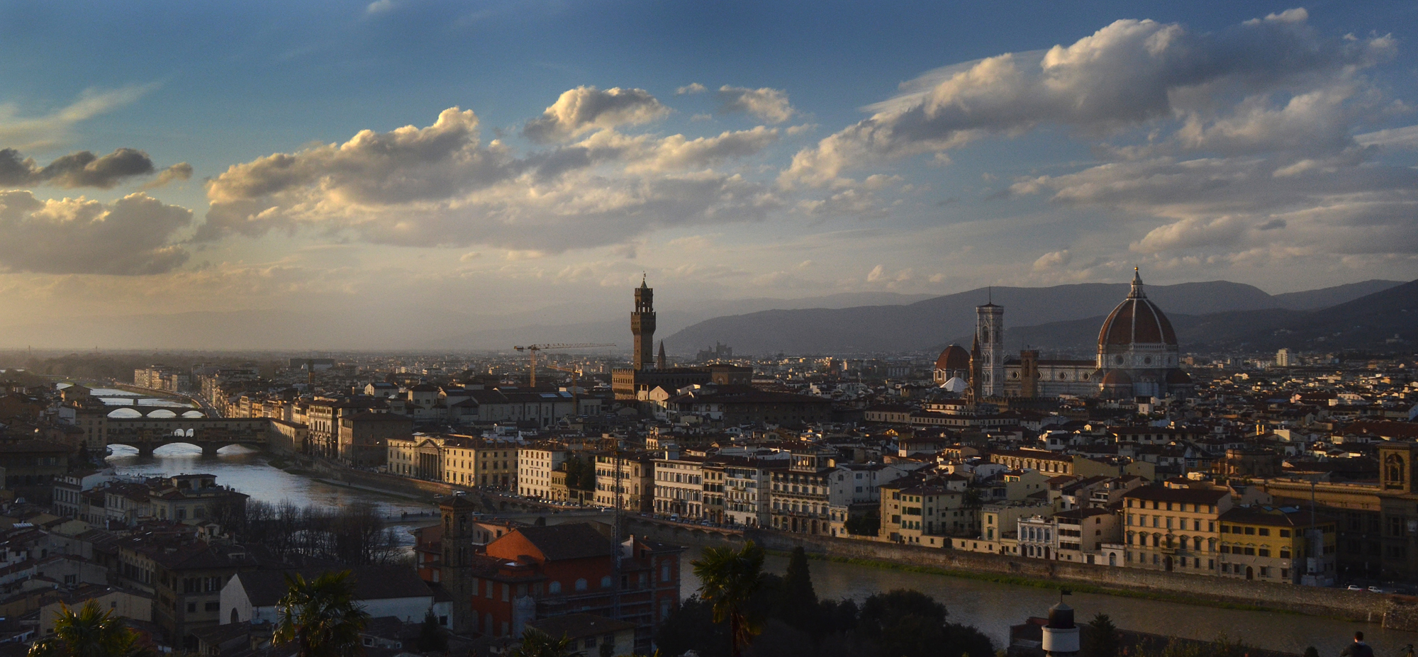 Michael McCollum3/19/13Florence Italy in late afternoon sun